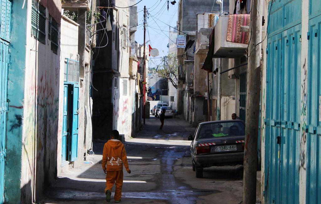 Aida refugee camp. © 2015 UNRWA Photo by Dominiek Benoot