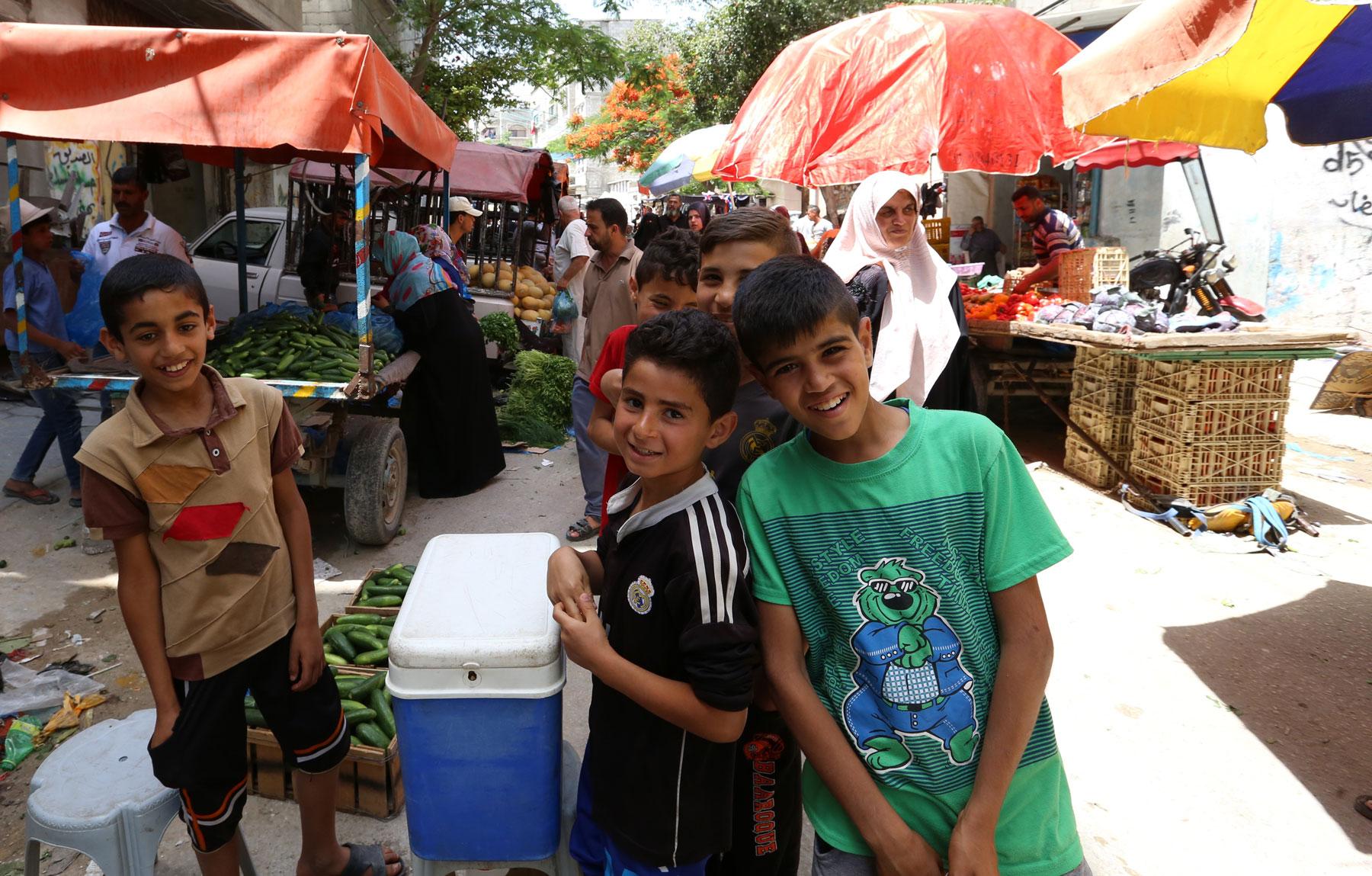 Bureij camp | UNRWA