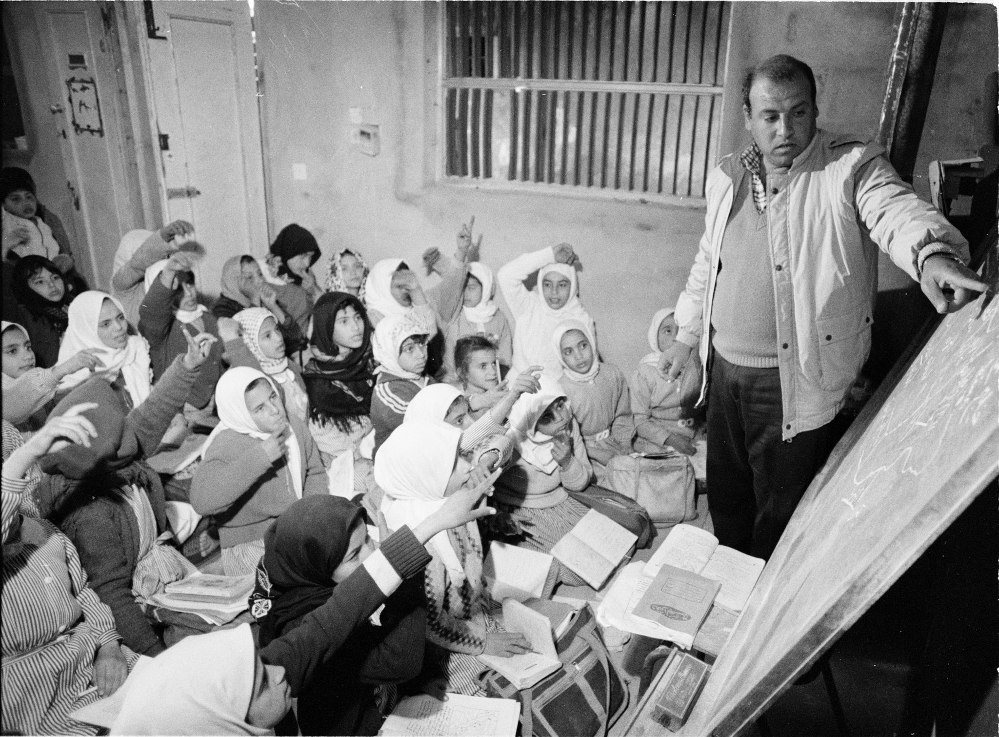 Delivering education on the front line: A timeline of UNRWA