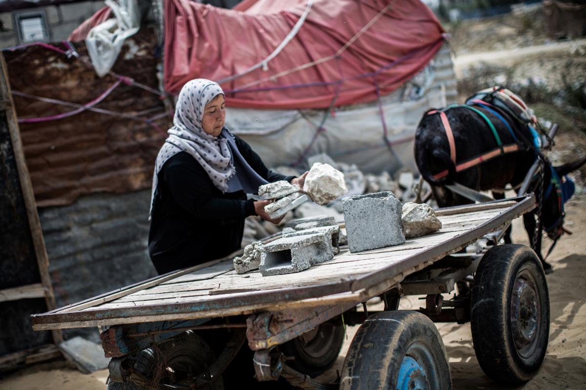 Jihad Abu Mihaisen,Foto: Tamer Hamam/ UNRWA.