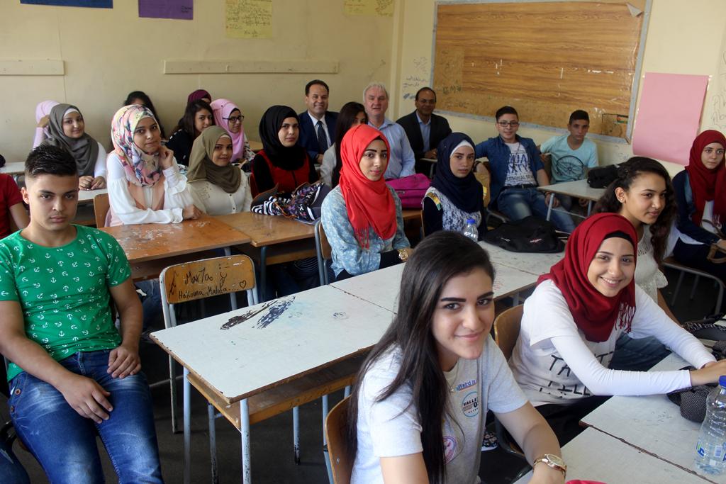Unrwa Schools In Lebanon Open Their Doors To Palestine