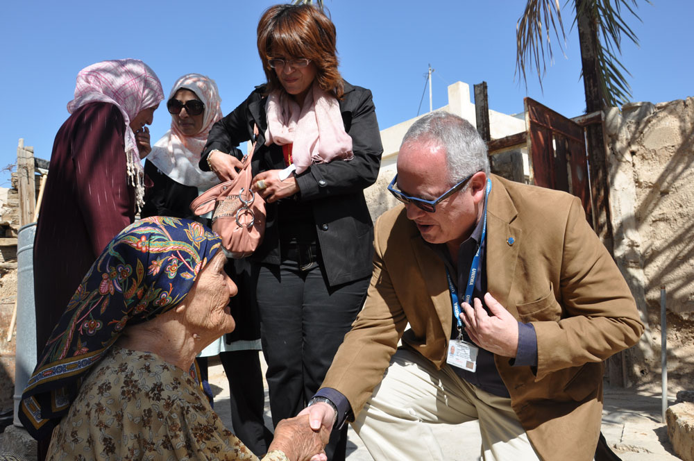 A Visit on Mother's Day | UNRWA