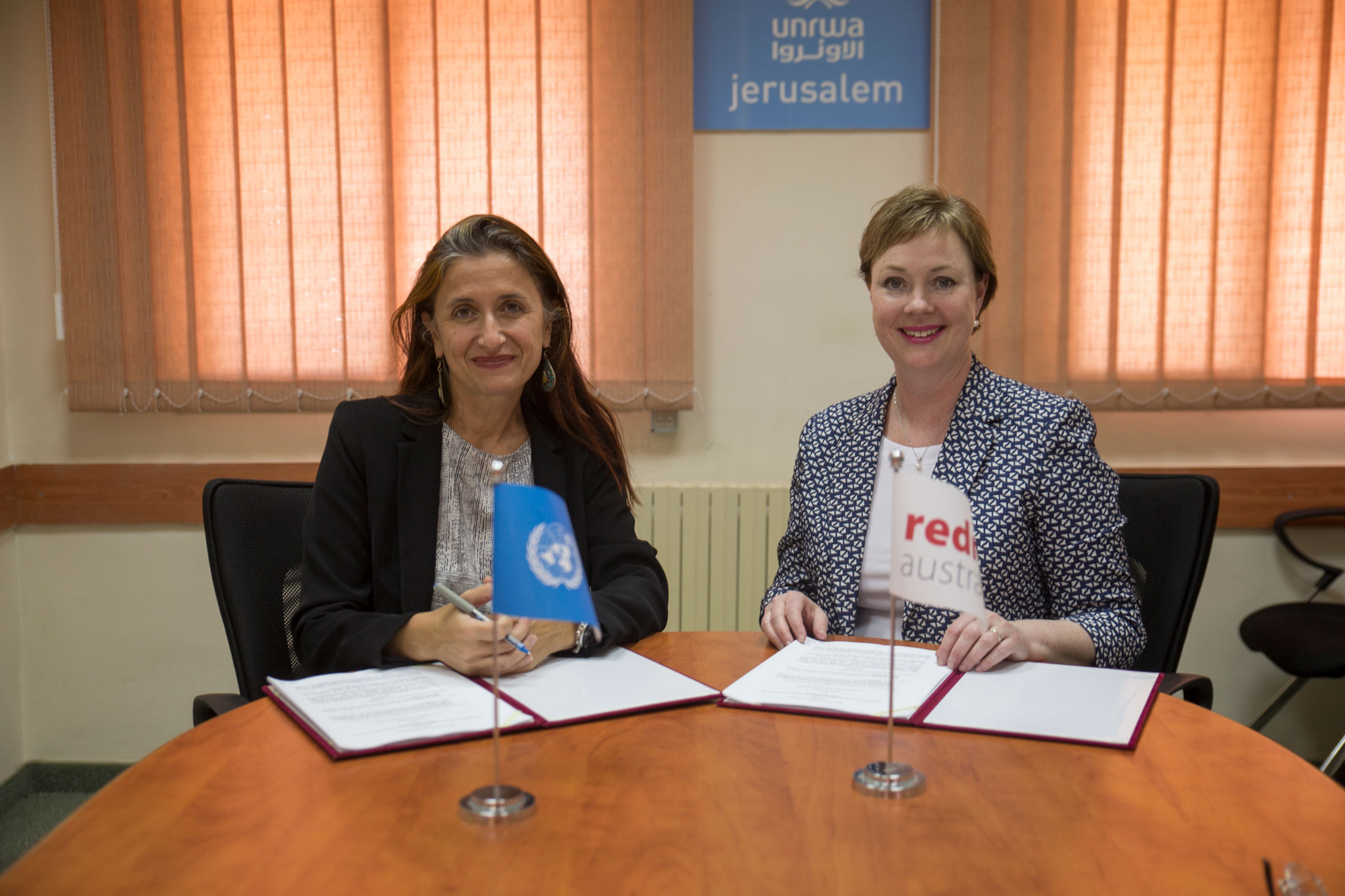 unrwa partners with redr australia to support emergency responses