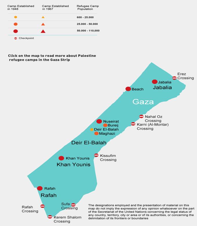 Refugee Camps Around The World Map.Where We Work Unrwa