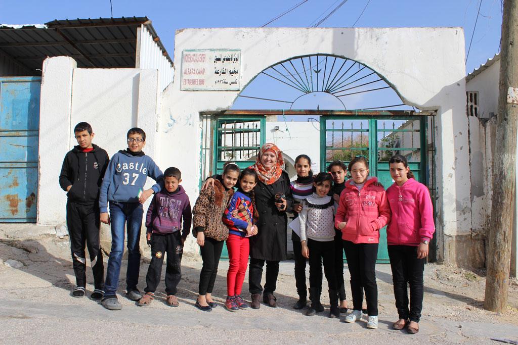 Far'a refugee camp. © 2015 UNRWA Photo by Dominiek Benoot
