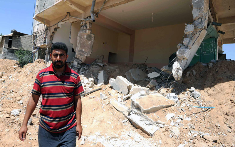 Gaza One Year Later: Hussam Salem al-Najjar, August 2015