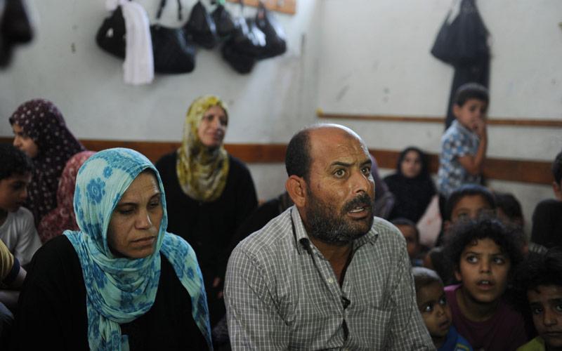 Gaza One Year Later: Atef Shallah, July 2014