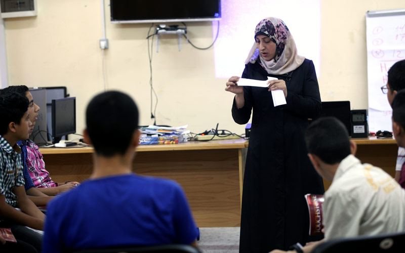 Gaza One Year Later: Somaya al-Hajj, June 2015
