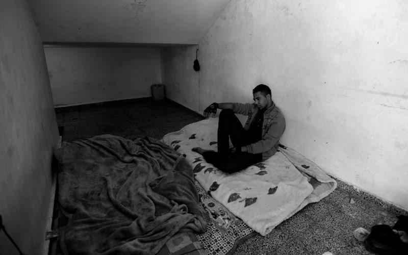 #GazaOneYearLater, Sameh al-Sa Kia, February 2015