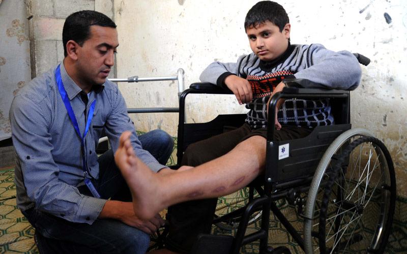 #GazaOneYearLater, Yousef Mansour, April 2015