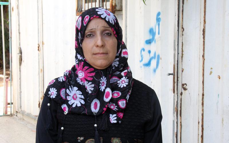 Hekmat al-Faiomi, Women Committee Zaitoun Collective Centre, July 2015 © 2015 UNRWA Photo