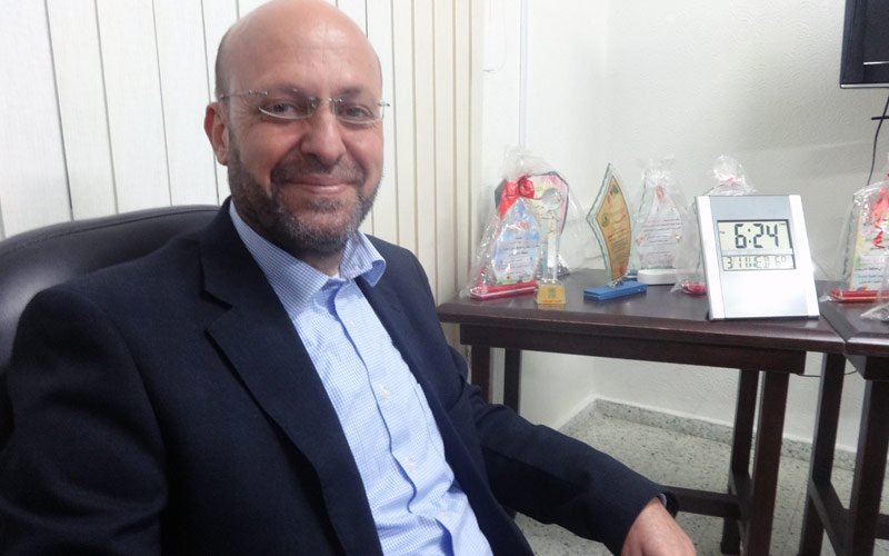 Gaza one year later: Mohammed al-Aydi, UNRWA Chief of Area (Khan Younis), June 2015