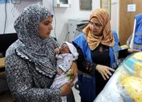 Dr. Hend Harb, UNRWA Senior Medical Officer, November 2014. Photo credit: ©UNRWA