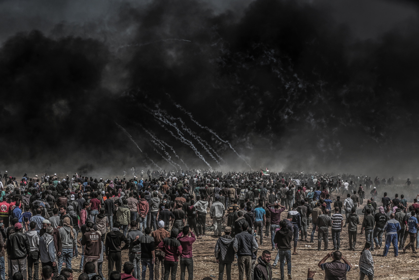 GAZA - GREAT MARCH OF RETURN