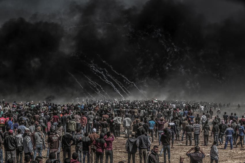 GAZA - GREAT MARCH OF RETURN