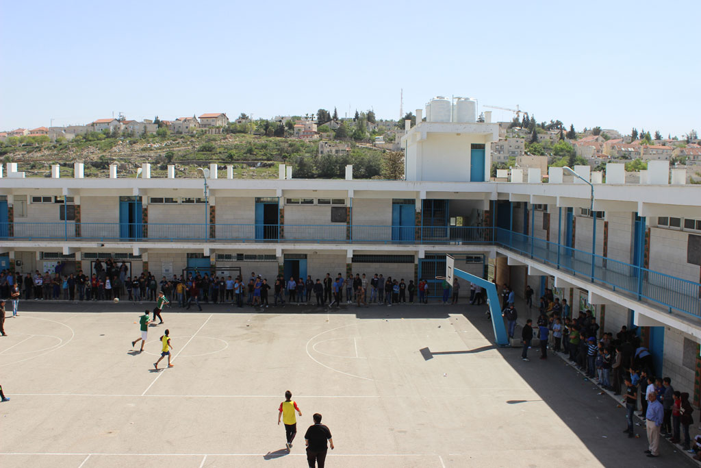 Jalazone refugee camp. © 2015 UNRWA Photo by Dominiek Benoot