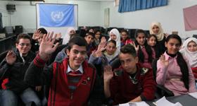 #MyVoiceMySchool. © UNRWA Photo