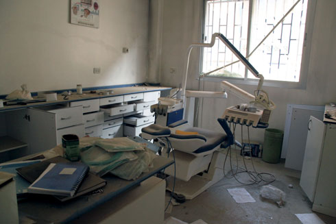UNRWA faces challenges in providing health services in Syria, including the damage and destruction of facilities. © 2015 UNRWA Photo by Taghrid Mohammad