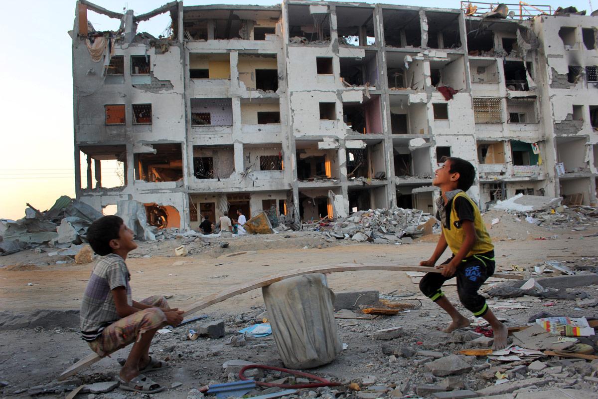 Gaza Strip, 2014. © Photo by Khalid Atif