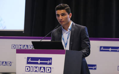 """Assaf in the 2014 Dubai International Humanitarian Aid and Development Conference and Exhibition"