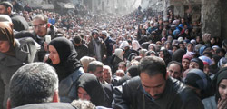 #SaveYarmouk. © UNRWA Photo