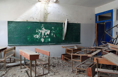 UNRWA School in Husseinieh, February 2015. © 2015 UNRWA Photo by Taghrid Mohammad