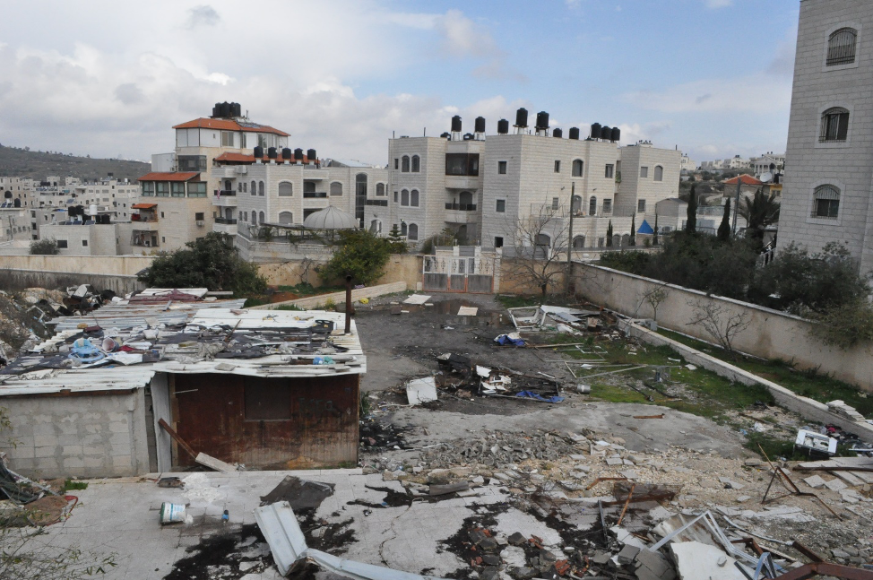 Helping Palestine refugees get back on their feet after home demolitions.