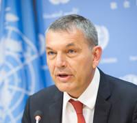 تعيين السيد فيليب لازاريني مفوضا عاما للأونروا من قبل الأمين العام للأمم المتحدة أنطونيو غوتيريش