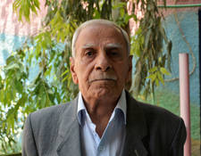 "Abdel Aziz al Khatib, 70 was born the year of the Nakba. ""I fled with my family. We were displaced half a dozen times. To me, al Nakba means the displacement of the Palestinian people from their homeland and their homes. I was displaced from my homeland and took refuge in Syria. The pain and sorrow al Nakba brought about affected my family and two children. My hope is to go back to Palestine and to see my country be free and independent."" © 2018 UNRWA  Photo by Iyad Faouri"
