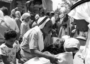 الأونروا توقف توزيع الحصص الغذائية