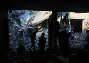 A week of conflict hits Gaza
