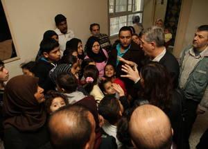 المفوض العام للأونروا السيد فيليبو غراندي يزور سوريا