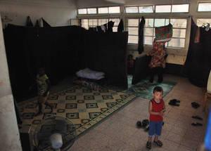 زيارة مفوض عام الأونروا فليبو غراندي  الى سوريا