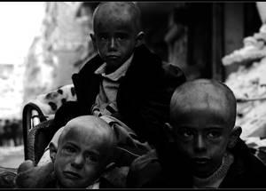 First prize winner photo by Niraz Saied, Yarmuok camp, Syria.
