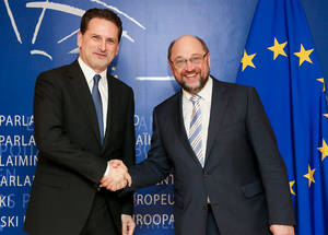 H. E. Martin Schulz, President of the European Parliament. Credit: © European Union 2015 – European Parliament