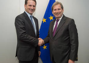 H.E. Johannes Hahn, EU Commissioner for European Neighbourhood Policy & Enlargement Negotiations Johannes Hahn. Credit: © European Union, 2015
