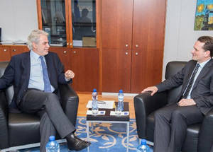H.E. Christos Stylianides EU Commissioner for Humanitarian Aid and Crisis Management. Credit: © European Union, 2015