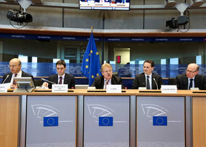 Addressing the European Parliament Foreign Affairs Committee chaired by the Honourable Member of Parliament Elmar Brok. Credit: © European Union 2015 – EP