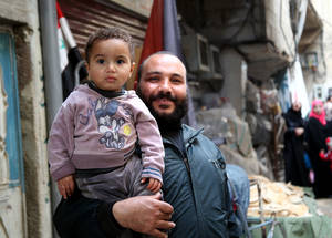 As the conflict in Syria passes its fourth anniversary, the needs of the Palestine refugee population are deepening. UNRWA requires US$ 415.4 million to meet minimum needs of Palestine refugees affected by the Syria crisis in the region in 2015. © 2014 UNRWA Photo by Taghrid Mohammad.
