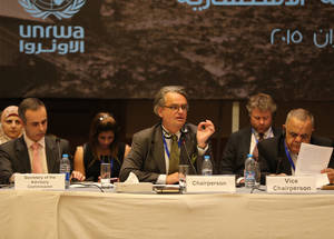 UNRWA Advisory Commission Meeting, 15 June 2015. © 2015 UNRWA Photo by Alaa Ghosheh