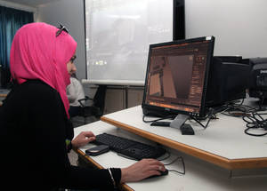 Increasingly, Engaging Youth helps Palestine youth identify and seek out opportunities for self-employment. Sixty-one of the 395 refugees who completed a course in business planning, 50 per cent of whom were female, have now started up their own enterprise. © 2015 UNRWA Photo by Taghrid Mohammad
