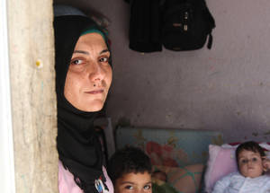 Female-headed households are particularly vulnerable. Taking on the financial and emotional responsibility for the family can be immensely stressful. Single mothers in Syria face social stigmas and have difficulty finding reliable work and a stable income. For the lucky few who find employment, regular childcare and schooling remain a struggle. © 2015 UNRWA Photo by Taghrid Mohammad