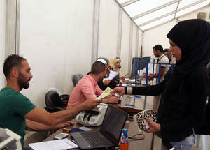 Cash assistance, made possible with the generous support of donors like the European Commission, makes a huge difference to the lives of Palestine refugees in Syria. In a recent evaluation by UNRWA, recipients voted cash assistance as the most useful form of humanitarian support, giving them the flexibility to respond to their changing needs and urgent requirements. © 2015 UNRWA Photo by Taghrid Mohammad