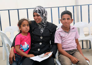 "Safa'a, a mother of two, and her family have been displaced three times since the Syrian crisis began in 2011. Originally from Damascus, they now live in a single room in a small village in Dera'a and rely on Safa'a's husband's sporadic income as a casual labourer. Safa'a plans to use her cash assistance to buy her children food and a change of clothes. ""We escaped violence and fighting but not hardship. As the conflict continues, this assistance represents an increasingly important source of support to us,"