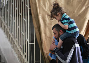 Cash assistance will remain the most important part of the Agency's emergency response as the crisis in Syria continues unabated. So far in 2015, UNRWA has undertaken two rounds of cash assistance, getting help to more than 700,000 Palestine refugees. © 2015 UNRWA Photo by Taghrid Mohammad