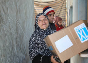 As the conflict approaches its sixth year, armed violence continues to rage in Syria. Every bit of support makes a difference for the 450,000 Palestine refugees still living in the country. Khan Dunoun, Damascus © 2015 UNRWA Photo by Taghrid Mohammad