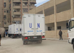 UNRWA continues to coordinate closely with other humanitarian partners and hopes this renewed access, facilitated by the Syrian authorities, will lead to sustained operations in the area. Yalda, 14 February, 2016. © 2016 UNRWA Photo