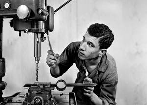 Vocational Training Centre in Gaza. Undated. © UNRWA Archive, Photographer Unknown