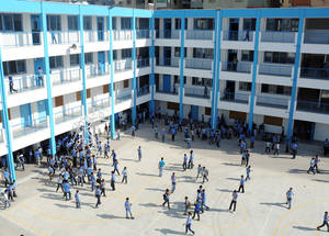 School in Gaza. © 2012 UNRWA Photo by Shareef Sarhan