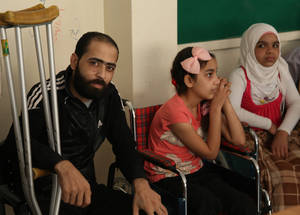 In spite of efforts to facilitate a sense of normalcy, the area still suffers from periods of insecurity.  On 21 February, multiple car bomb explosions in Qabr Essit left 31 Palestine refugees dead and many more injured or left with permanently disabilities. UNRWA Dallata Beit Jibrin Elementary School, Qabr Essit, Syria. © 2016 UNRWA Photo by Taghrid Mohammad